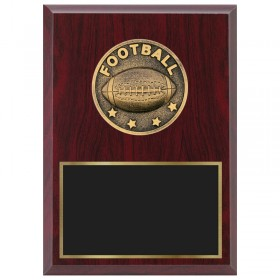 Football Plaque 1870A-XF0006