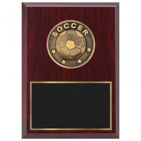 Soccer Plaque 1870A-XF0013