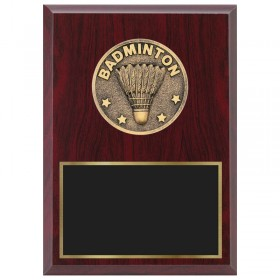Badminton Plaque 1870A-XF0027