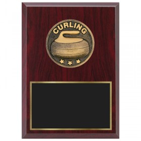 Curling Plaque 1870A-XF0035