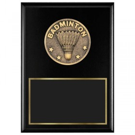 Badminton Plaque 1770A-XF0027