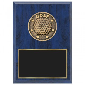 Golf Plaque 1670A-XF0007