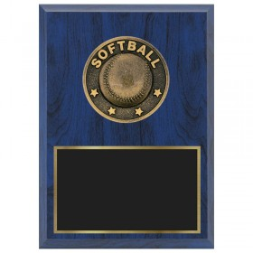 Softball Plaque 1670A-XF0026