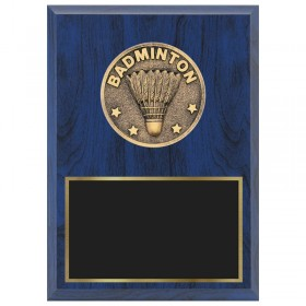 Badminton Plaque 1670A-XF0027