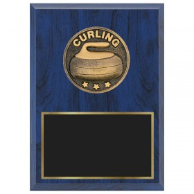 Curling Plaque 1670A-XF0035