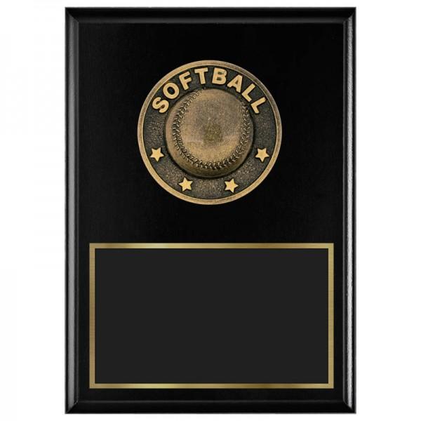 Softball Plaque 1770A-XF0026