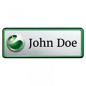 Green Name Badge NAB310_GN