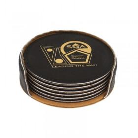 Black Coaster Set DAL717K