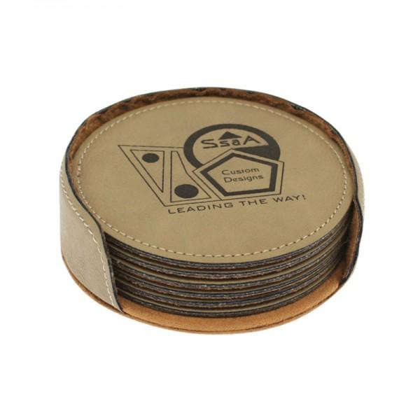 Sandstone Coaster Set DAL717SS