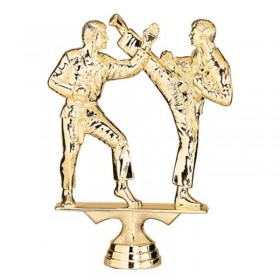 Karate Double Male Figure 6 1/4 in 8023-1