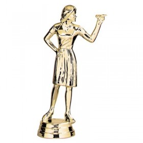 Figurine Fléchette Femme 5 po 8339-1