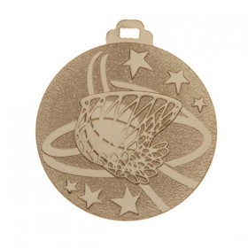 Médaille Basketball Or 2 po 510-052-1