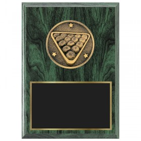 Billiards Plaque 1470-XF0036