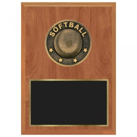 Plaque Softball 1183-XF0026