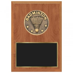 Badminton Plaque 1183-XF0027