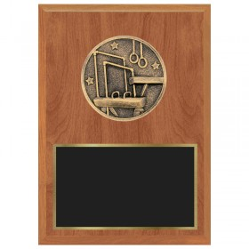 Gymnastics Plaque 1183-XF0052