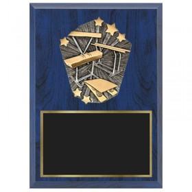 Gymnastics Plaque 1670-XPC52