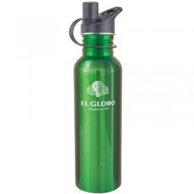 Bouteille d'eau Verte personnalisée LG11-N