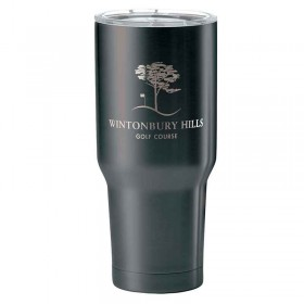 Custom Black Thermal Tumbler LG14-K