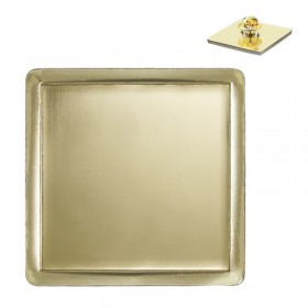 Square Gold Pin MLP 322BG