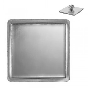 Square Silver Pin MLP 322BS