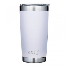 20 oz - White Thermal Tumbler DB203W