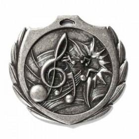 Médaille Argent Musique 2 1/4 po BMD024AS