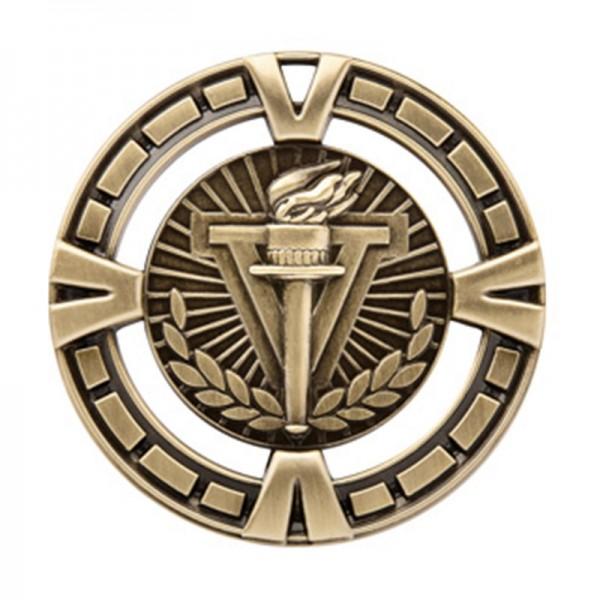 Médaille Or Victoire 2 1/2 po MSP401G