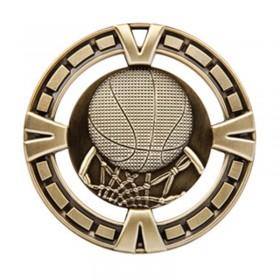 Médaille Or Basketball 2 1/2 po MSP403G