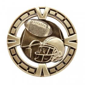 Football Gold Medal 2 1/2 in MSP406G