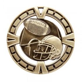Médaille Or Football 2 1/2 po MSP406G