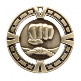 Médaille Or Arts Martiaux 2 1/2 po MSP411G