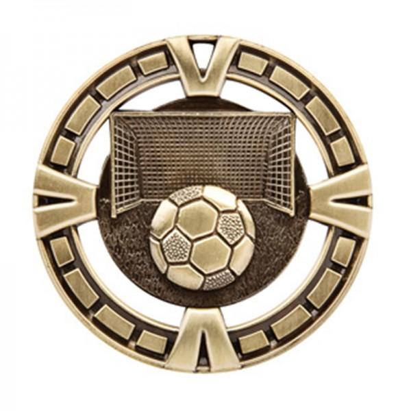 Médaille Or Soccer 2 1/2 po MSP413G