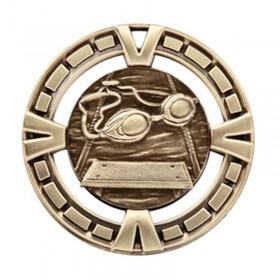 Médaille Or Natation 2 1/2 po MSP414G