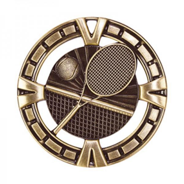 Tennis Gold Medal 2 1/2 in MSP415G