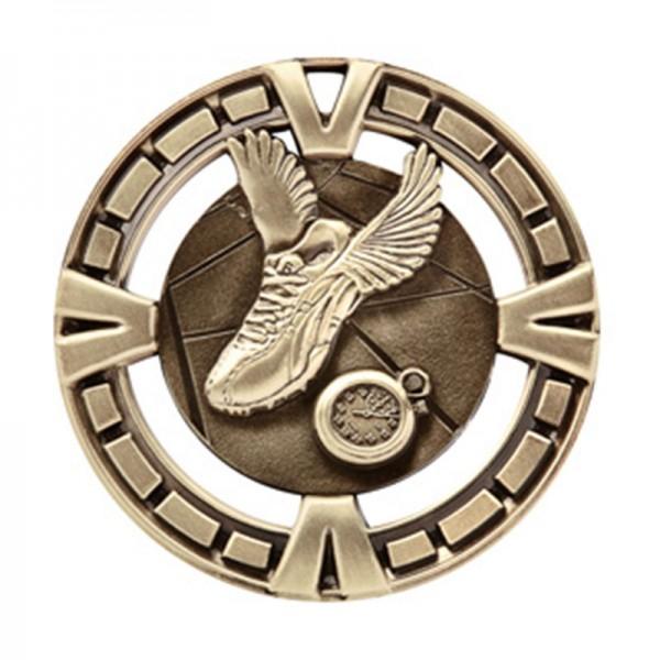 Médaille Or Course à Pied 2 1/2 po MSP416G