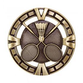 Médaille Or Badminton 2 1/2 po MSP419G