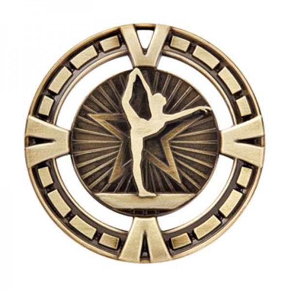 Médaille Or Gymnastique 2 1/2 po MSP425G
