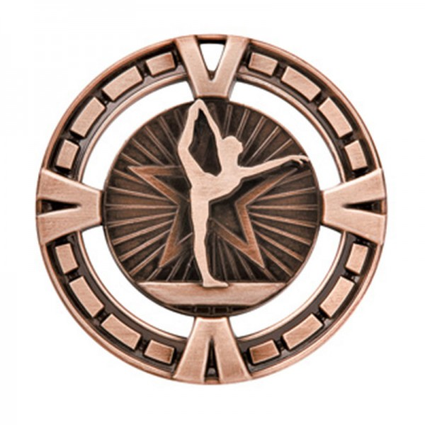 Gymnastic Bronze Medal 2 1/2 in MSP425Z
