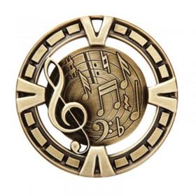 Music Gold Medal 2 1/2 in MSP430G