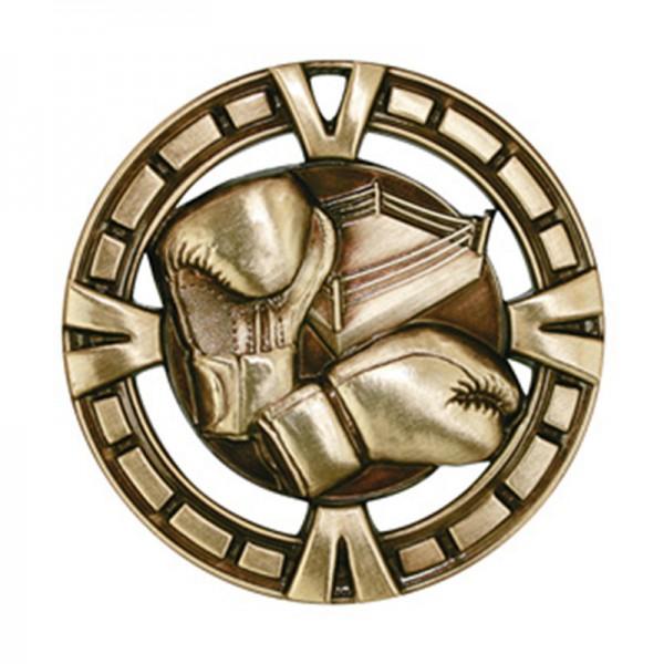 Médaille Or Boxe 2 1/2 po MSP431G
