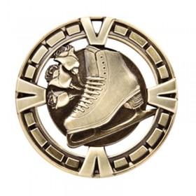 Médaille Or Patinage Artistique 2 1/2 po MSP437G