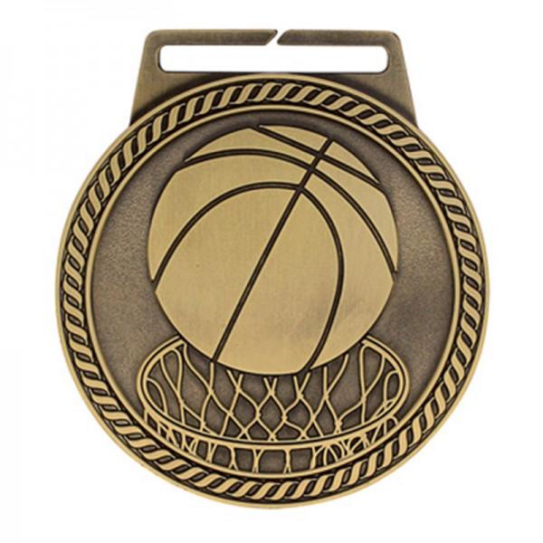 Médaille Or Basketball 3 po MSJ803G