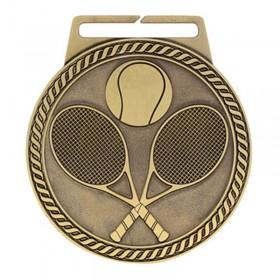Médaille Or Tennis 3 po MSJ815G