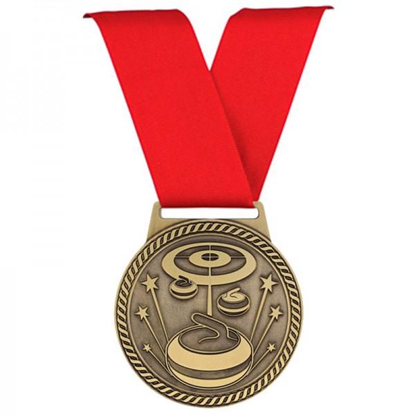 Curling Medal 3 in MSJ847-DEMO