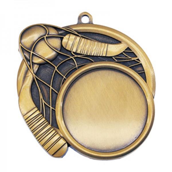 Médaille Or Dek Hockey 2 1/2 po MSI-2521G