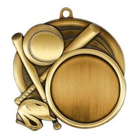Baseball Gold Medal 2 1/2 in MSI-2502G
