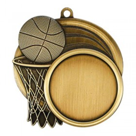 Basketball Gold Medal 2 1/2 in MSI-2503G