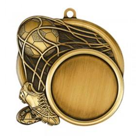 Médaille Or Soccer 2 1/2 po MSI-2513G
