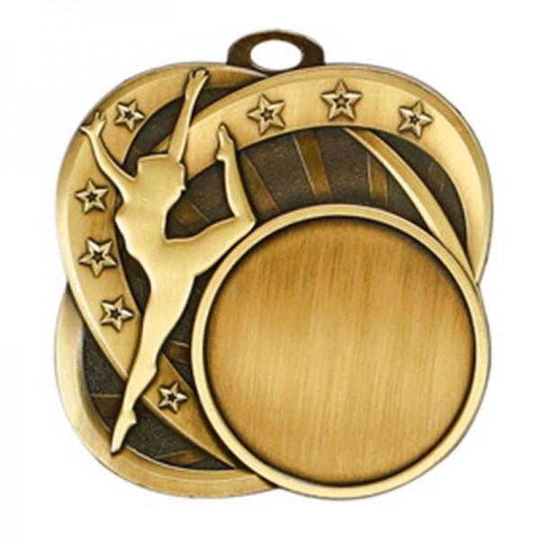 Dance Gold Medal 2 1/2 in MSI-2554G